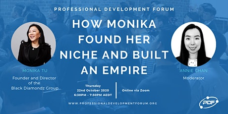 How Monika Found Her Niche and Built An Empire tickets