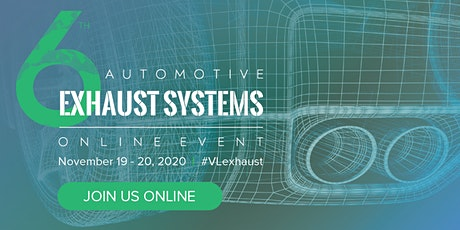 6th Automotive Exhaust Systems Summit tickets