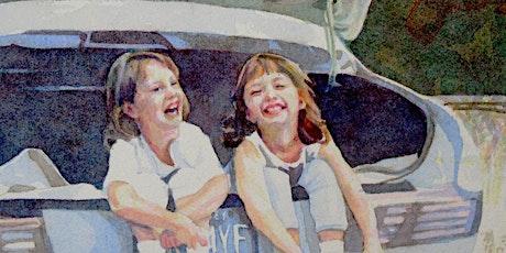 Watercolor Portraits, Thursdays, 10am-12pm, Oct 1 - Nov 5