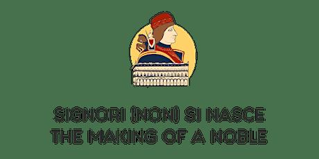 SIGNORI (NON) SI NASCE/  (free donation) biglietti