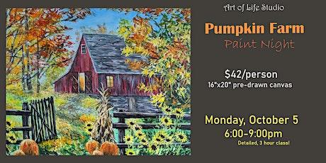 Paint Night: Pumpkin Farm tickets