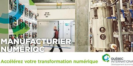 Série Manufacturier NumériQc billets