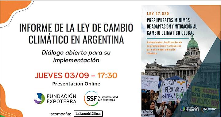 Imagen de Informe sobre la Ley de Cambio Climático en Argentina