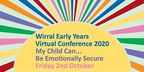 Wirral Early Years Virtual Conference 2020 tickets