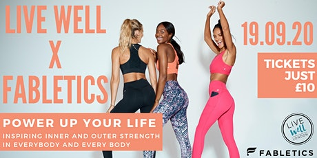 Live Well Events x Fabletics: POWER UP YOUR LIFE tickets