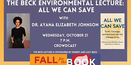The Beck Environmental Lecture: All We Can Save tickets