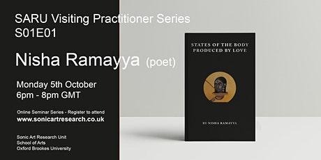 SARU Visiting Practitioner Series: Nisha Ramayya tickets