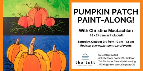 Pumpkin Patch Paint-along! tickets