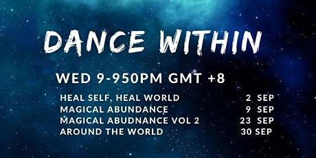Dance Within September (Every Wednesday Night) tickets