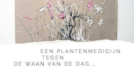 Meditatief planten tekenen tickets
