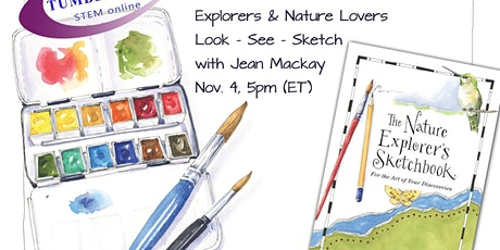 Free Zoom for Nature Lovers, Artists & Explorers - Look —See—Sketch! tickets