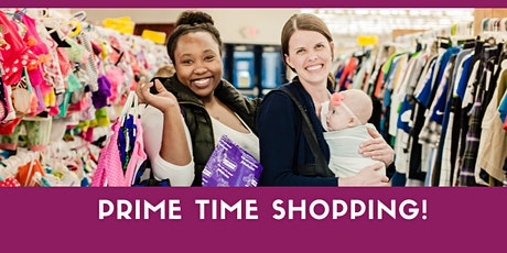 Prime Time Shopping Pass $10 - JBF Arlington - Summer 2020 tickets