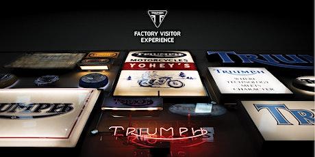 June 2021 Factory Tours tickets