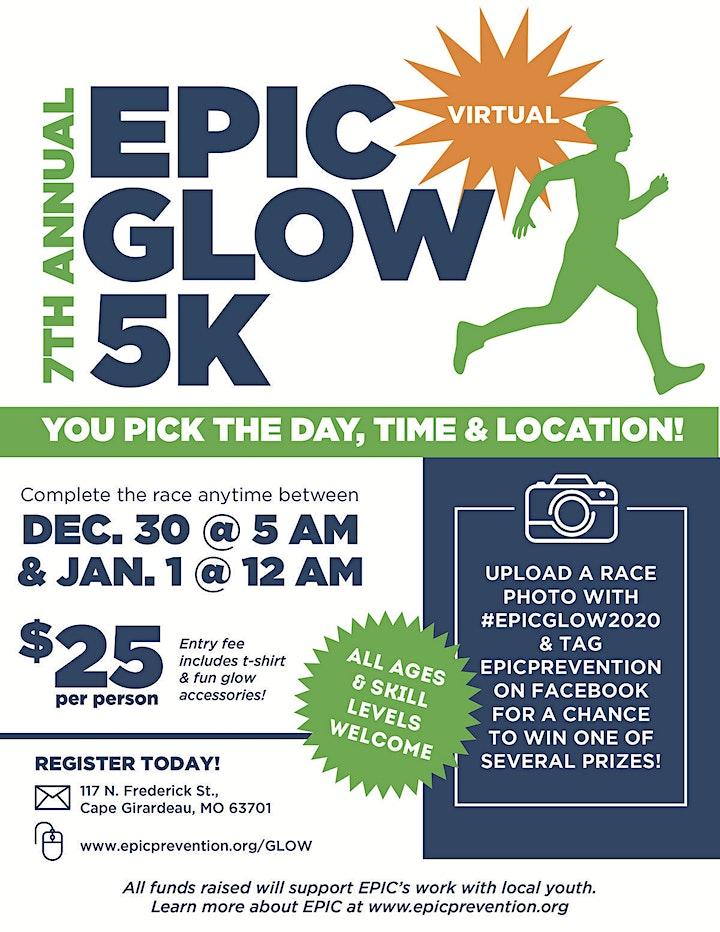 EPIC Glow 5k 2020 image