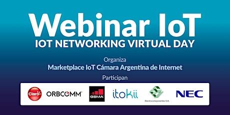 Webinar IoT Organiza Marketplace IOT de la Camara Argentina de Internet entradas