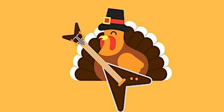 Thanksgiving Rock n Roll Bingo tickets
