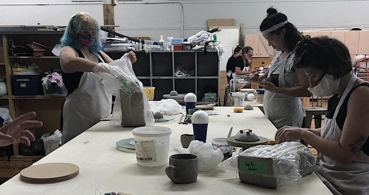 Handbuilding Clay with Marcelina Salazar image