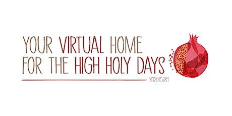 JCP Downtown High Holy Days 2020/5781 — Rosh Hashanah & Yom Kippur tickets