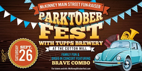 Parktoberfest Drive-in Concert - McKinney Main St Fundraiser tickets