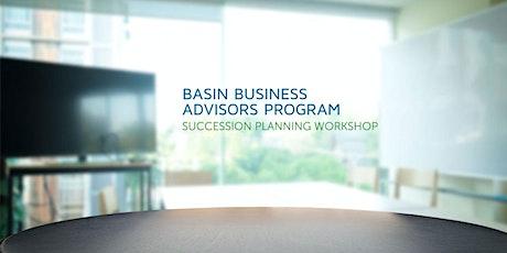 Succession Planning Workshop (Online) - November 3, 2020 tickets