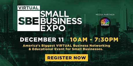 National Virtual Small Business Expo 2020 (December 11) tickets