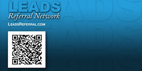 LEADS Referral Network - Virtual SPEED Networking tickets