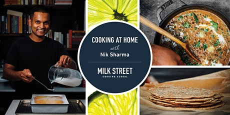 Cooking at Home with Nik Sharma: Dal, Parathas and Culinary Science tickets
