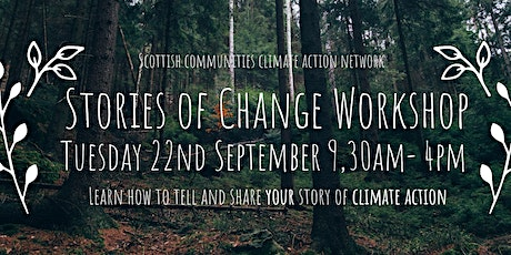 Stories For Change 2: a Tuesdays4Climate Workshop 9.30am-4pm Tues 22 Sept tickets