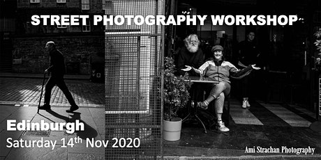 Edinburgh Street Photography Therapy tickets
