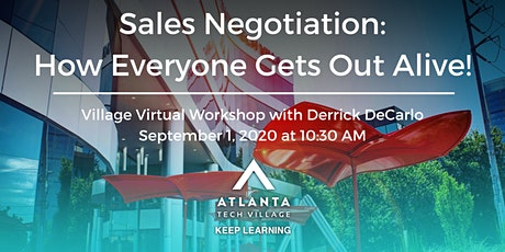 Village Virtual Workshop: Sales Negotiation – How Everyone Gets Out Alive! boletos