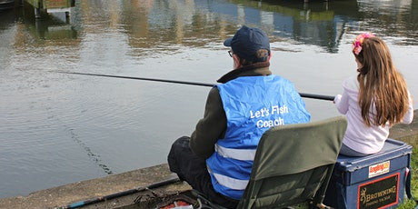 Free Let's Fish! - Stoke-On-Trent - Learn to Fish session tickets