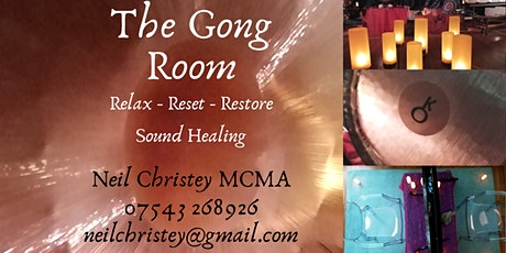 Gong Bath - Relax and unwind tickets