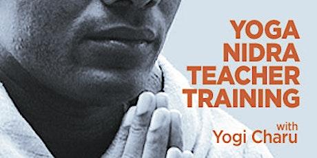 Yoga Nidra Teacher Training with Yogi Charu tickets
