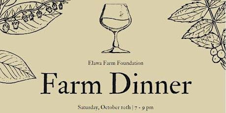 Oct Farm Dinner tickets