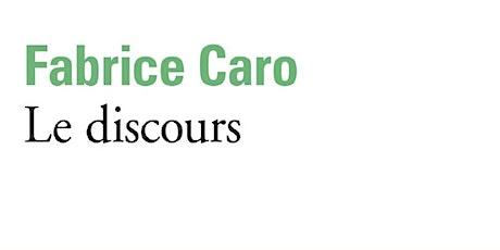 ONLINE Club de Lecture - Le discours tickets