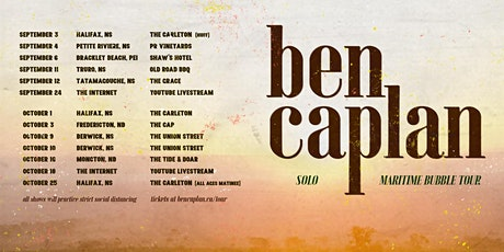 Ben Caplan (solo) tickets