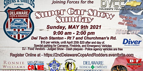 2nd Annual Delaware Cops & Rodders Car Show tickets
