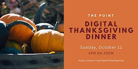 Digital Thanksgiving Dinner tickets