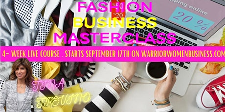 Fashion Designer Business MasterClass for Women in Business by Tocaya CEO tickets