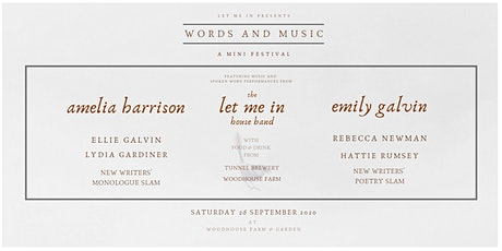 Words and Music - A Mini Festival tickets