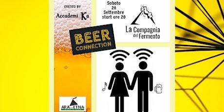 Beer Connection: dalla produzione al beer garden biglietti