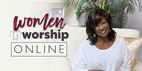 WOMEN IN WORSHIP ONLINE BIBLE STUDY tickets