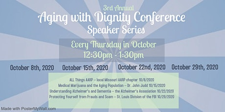 3rd Annual Aging with Dignity Conference -- Speaker Series tickets