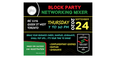 Block Party Networking Mixer tickets