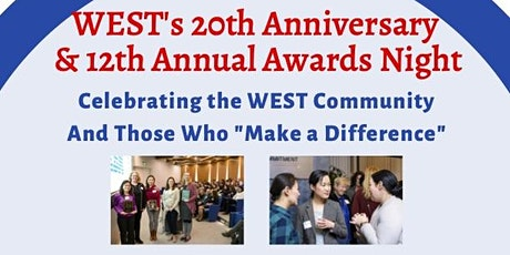 WEST's 20th Anniversary/12th Annual Awards Celebration tickets
