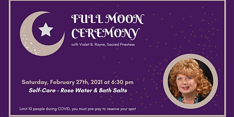 Full Moon Ceremony - Self Care tickets