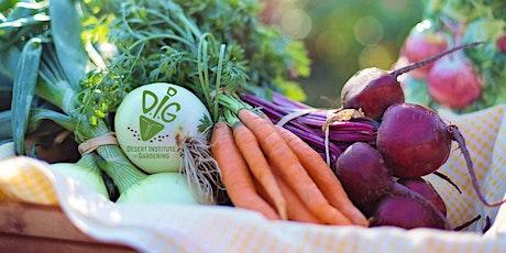 DIG ONLINE: Phoenix Rocks Fall Vegetable Gardens! tickets