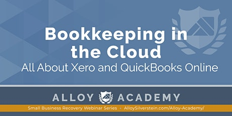 Bookkeeping in the Cloud: All About Xero and QuickBooks Online tickets