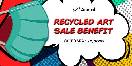 "'BEST OF"" RECYCLED ART TENT-  VIP Early Bird Sale tickets"