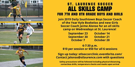St. Laurence Co-Ed Soccer Clinics tickets